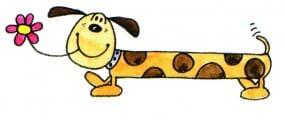 Penny Black Holzstempel - Hund