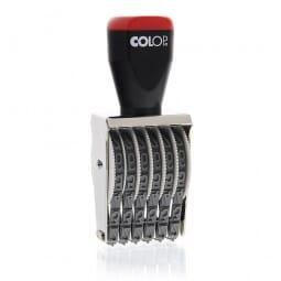 Colop Handstempel 09006 (39x9 mm - 6-stellig)