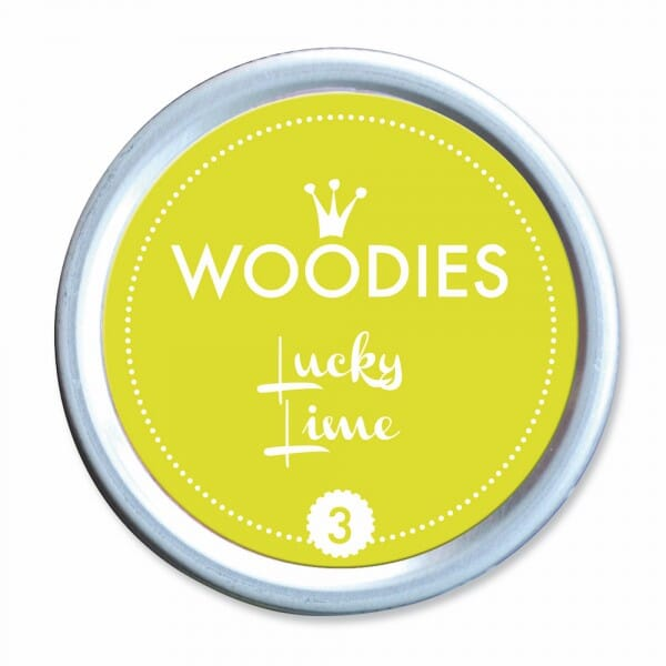 Woodies Stempelkissen - Lucky Lime