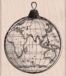 Hero Arts Holzstempel - World ornament