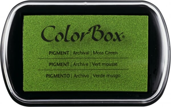 Clearsnap Colorbox - Moosgreen Stempelkissen