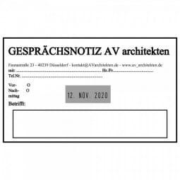 Trodat Professional 54120 Datumstempel - 116 x 70 mm - 6 + 6 Zeilen - Datum mittig
