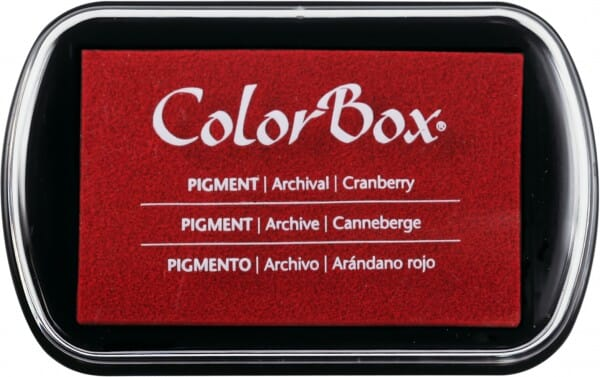 Clearsnap Colorbox - Cranberry Stempelkissen