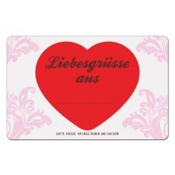 Duftpostkarten - Liebesgrüsse aus