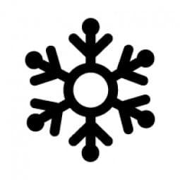 Stemplino Ministempel Schneeflocke