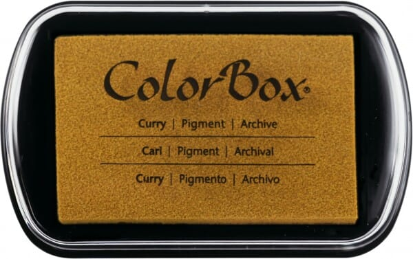 Clearsnap - Colorbox Full Size Curry