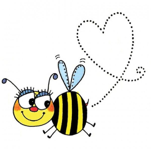 Penny Black Holzstempel - Biene