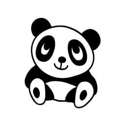 Stemplino Ministempel Pia Pandabär