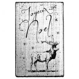 Vintage Stamp Joyeux noël (Hirsch)