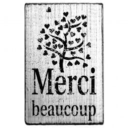 Vintage Stamp Merci beaucoup