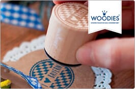Woodies Stempel – Orte