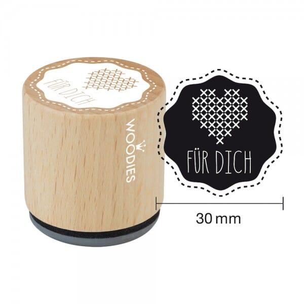 Woodies Stempel - Für Dich 1