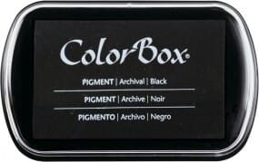 Clearsnap Colorbox - Black Stempekissen