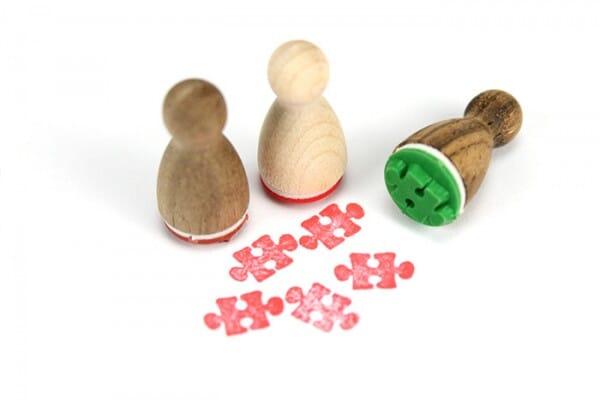 Stemplino Ministempel Puzzleteil