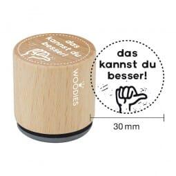 Woodies Stempel - Das kannst du besser!