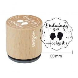 Woodies Stempel - Einladung zur Hochzeit 2