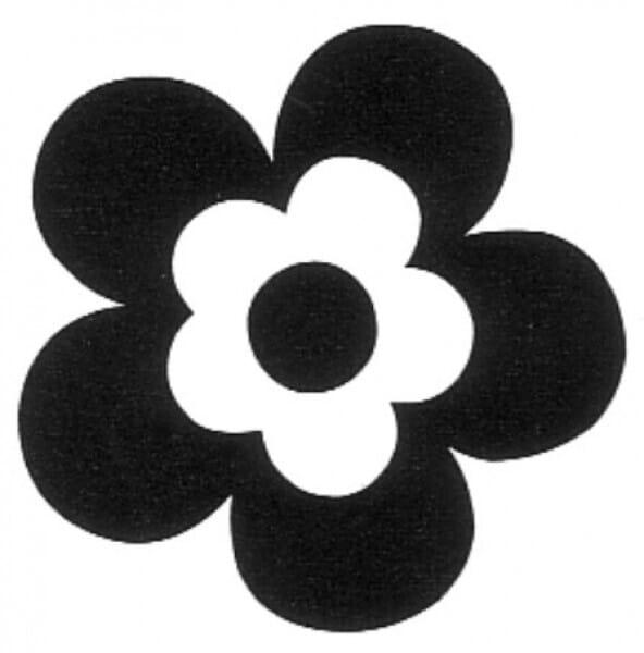 Penny Black Holzstempel - Blume