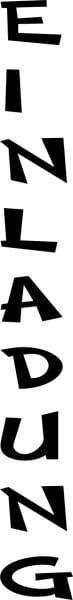Perma Stempel Holzstempel - Einladung (Design 2)
