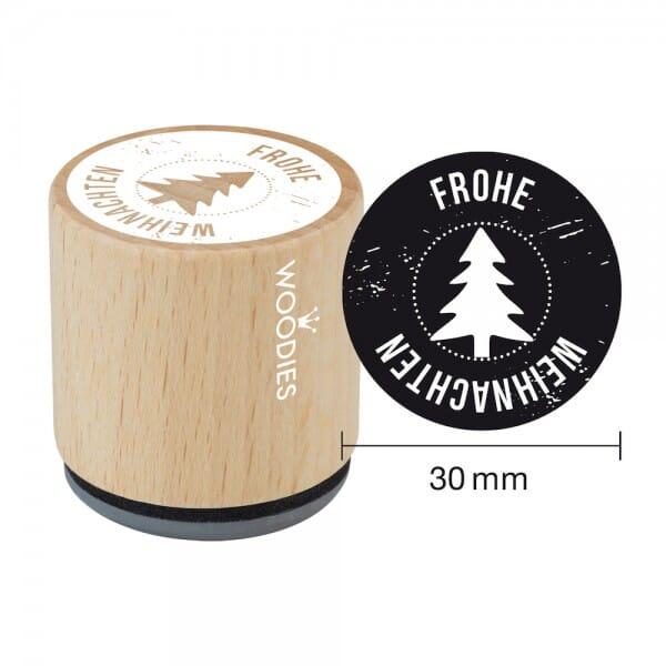 Woodies Stempel - Frohe Weihnachten