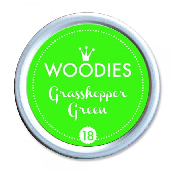 Woodies Stempelkissen - Grasshopper Green