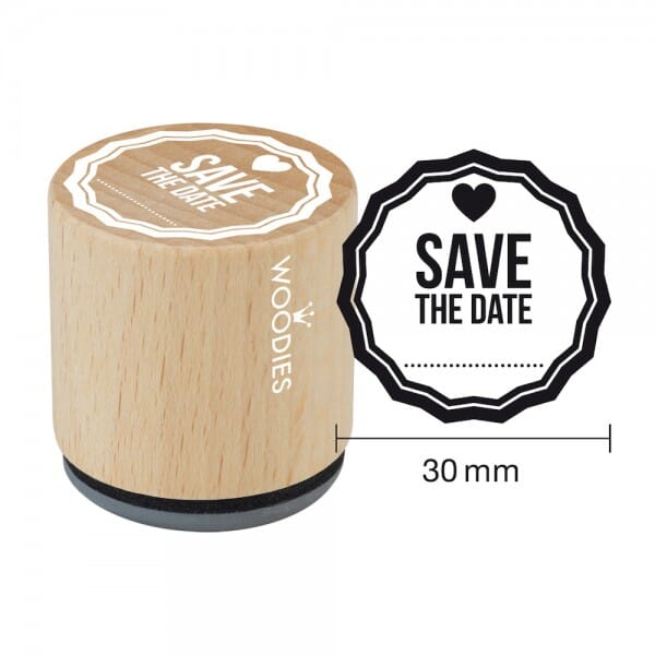 Woodies Stempel - Save the date