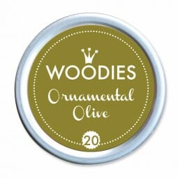 Woodies Stempelkissen - Ornamental Olive