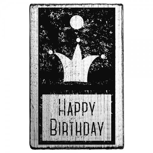 Vintage Stamp Happy birthday