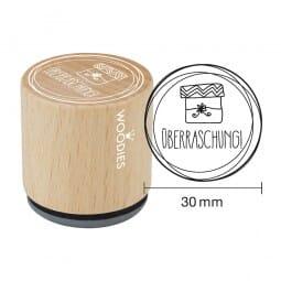 Woodies Stempel - Überraschung