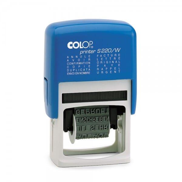 Colop Printer S 220/W (25x4 mm) Französisch
