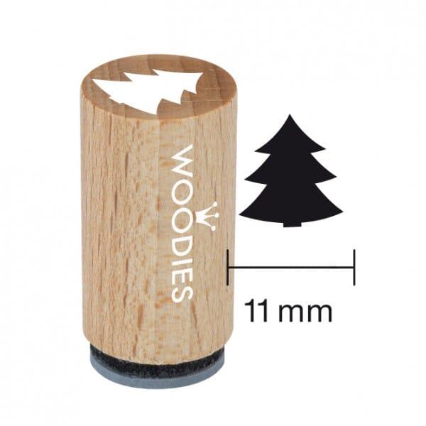 Mini Woodies Stempel - Tannenbaum