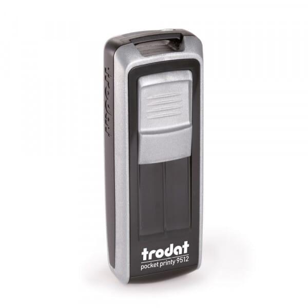 Trodat Pocket Printy 9512 47 x 18 mm - 4 Zeilen