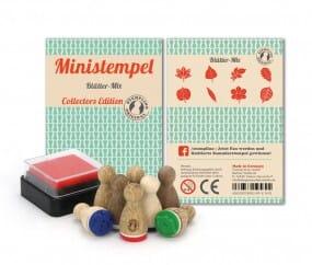 Stemplino Ministempel Blätter-Mix