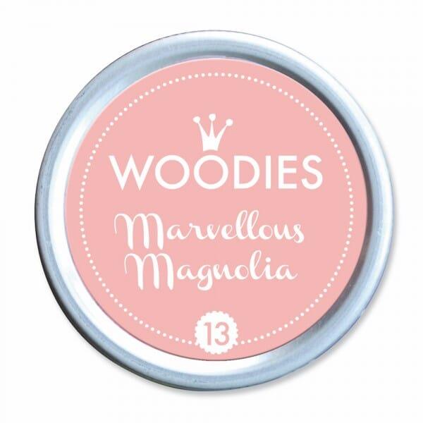 Woodies Stempelkissen - Marvellous Magnoli