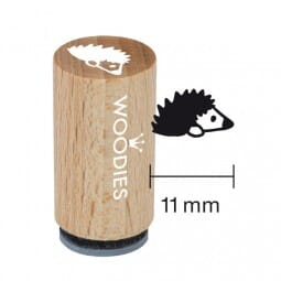 Mini Woodies Stempel - Igel