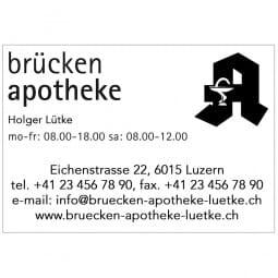 Trodat Professional 5208 - Textstempel - 68 x 47 mm - 10 Zeilen